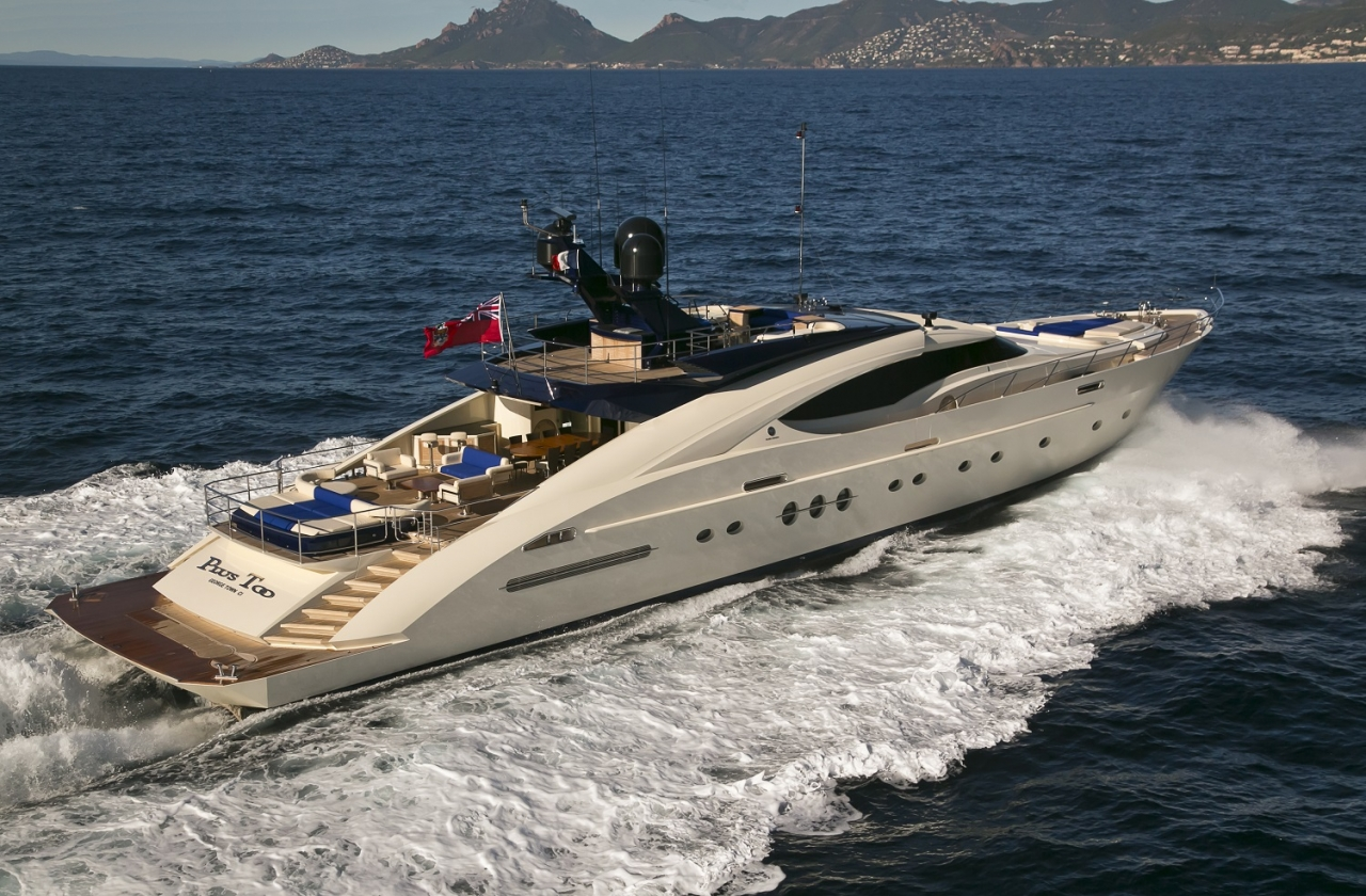M/Y PLUS TOO - Palmer & Johnson 135 for Sale